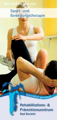 Physiotherapie im Rehazentrum Bad Bocklet