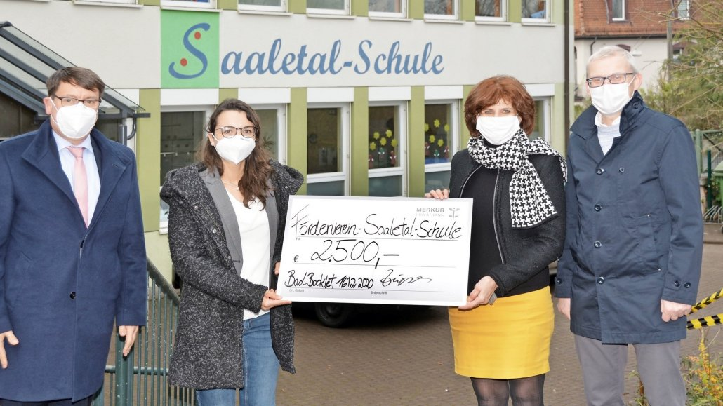 Spende für Saaletal-Schule Bad Kissingen